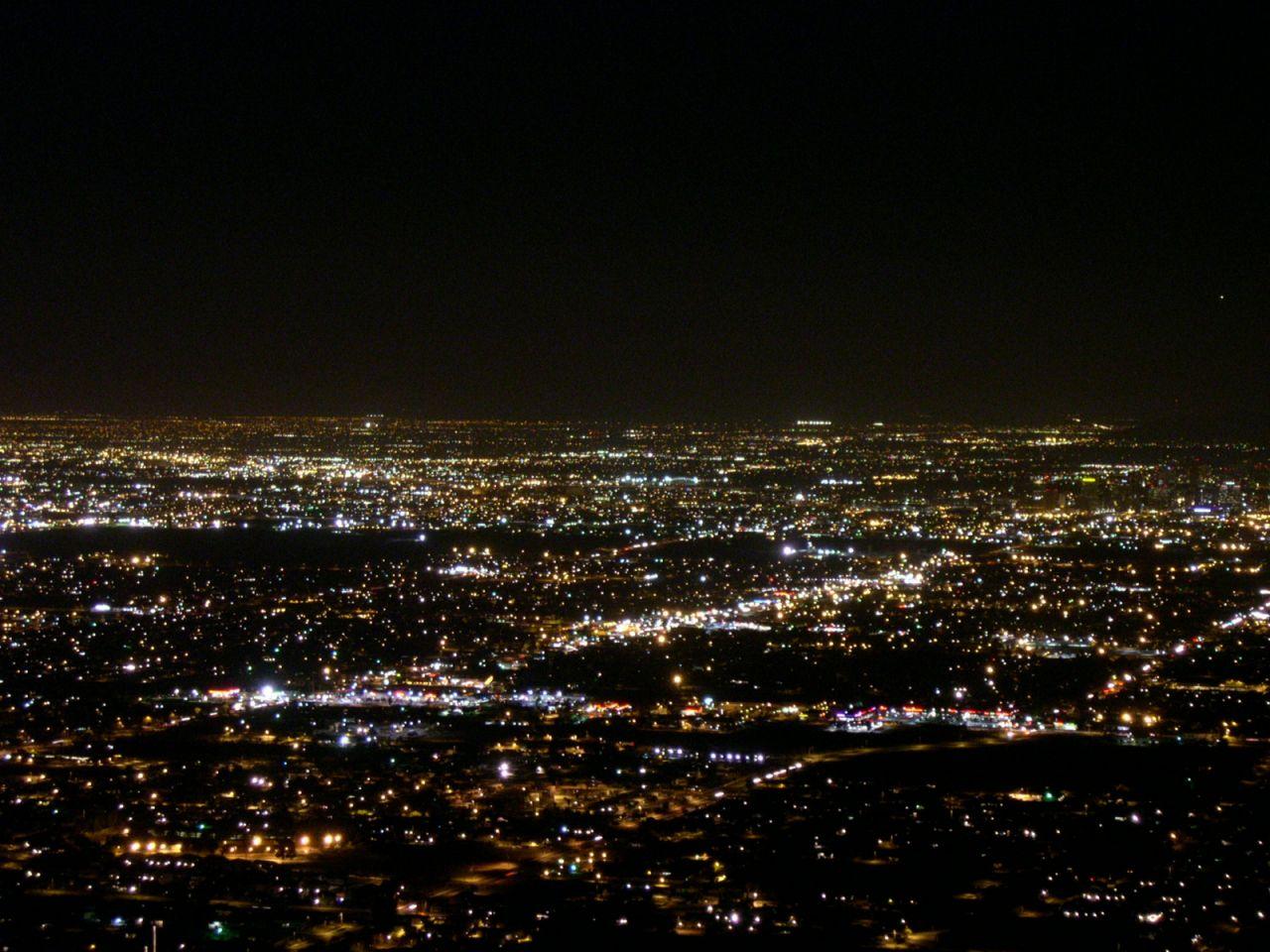 Phoenix at Night.