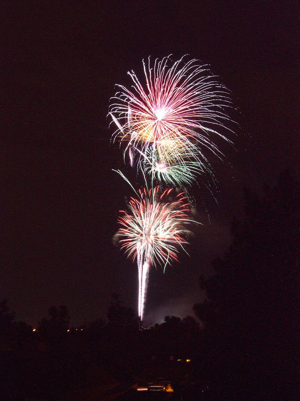 Fireworks over GCC.