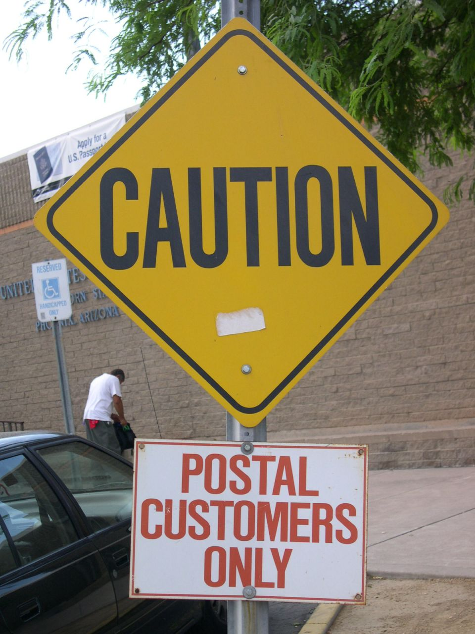 CAUTION: Postal Customers Only!